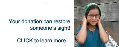 Your donation can restore someone's sight - CLICK to learn more...